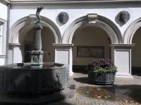 2018 08 26 Koblenz Wahrzeichen von Koblenz der Schlängelbrunnen