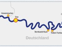 2018 Fluss KF Mosel Route