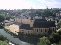 Luxemburg Europas schönster Balkon Panoramafoto