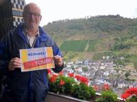 2018 08 25 Cochem Balkonblick von der Reichsburg Reisewelt on Tour