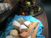 Käsebuffet mit Obst