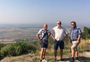 2018 09 01 Blick vom Fernsehturm Tokaj auf 509 m Höhe