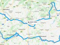 Route dieser Reise