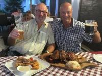 2018 08 30 Eger erstes ungarisches Abendessen perfekte Stelze
