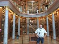 2018 08 30 Pannonhalma Benediktinerabtei wunderschöne Bibliothek