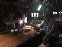 2018 08 31 Tokaj Weinverkostung im Rakoczi Keller