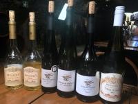 2018 08 31 Tokaj Weinverkostung von 6 Weinen im Rakoczi Keller