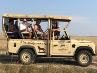 2018 09 01 Safari Stopp in der Steppe der Puszta