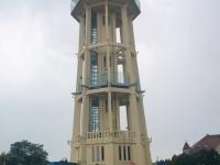 2018 09 03 Siofok Wasserturm im Komitat Somogy