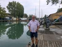 2018 09 03 Siofok Yachthafen mit Schleuse
