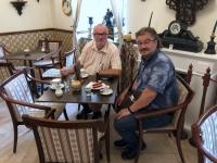 2018 09 04 Keszhely Schloss Festetics Cafehausbesuch