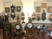 2018 09 04 Keszhely Schloss Festetics Uhrensammlung im Cafehaus