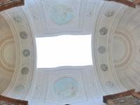 2018 08 30 Pannonhalma Benediktinerabtei Bibliothek Kuppel