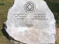 Ungarn Aggteleker Höhlen Tafel 1