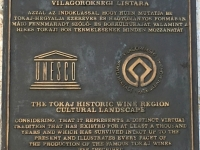 Ungarn Kulturlandschaft Tokajer Weinregion Tafel 1