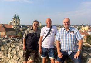 2018 08 31 Eger Burgblick auf die Stadt