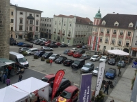 Blick auf den Stadtplatz