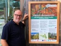 Österreich Alte Buchenwälder der Karpaten Plakat
