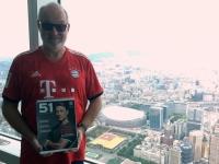 2018 09 23 Taipei Tower 1 101 Blick aus 390 Meter FC Bayern