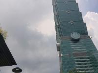 2018 09 23 Taipei Tower 101 Blick Reisewelt on Tour
