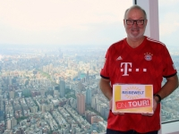 2018 09 23 Taipei Tower 101 Blick aus 390 Meter Reisewelt on Tour