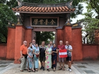 2018 09 25 Tainan Konfuzius Tempel mit Models