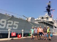 2018 09 26 Tainan Anping vor Marineschiff 925