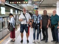 2018 09 29 Taipei Anstellen bei U_Bahn