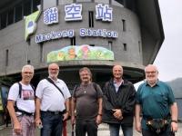 2018 09 29 Taipei Bergstation Maokong Gondel