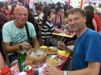 2018 09 23 Taipei Shilin Nachtmarkt schmeckt hervorragend