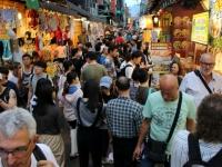 2018 09 23 Taipei Shilin Nachtmarkt tausende Menschen