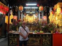2018 09 23 Taipei Tempel mitten im Shilin Nachtmarkt