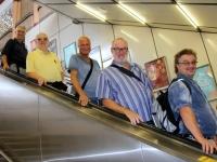 2018 09 24 Mit der Rolltreppe zur U_Bahn