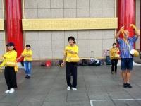2018 09 24 Taipei Chiang Kai Shek Gedächtnishalle Trommelvorführung