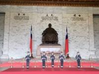 2018 09 24 Taipei Chiang Kai Shek Gedächtnishalle Wachablöse
