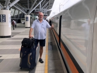 2018 09 25 Einfahrt des HSR Schnellzug