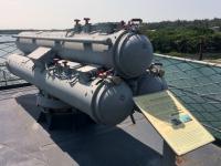 2018 09 26 Tainan Anping Marineschiff 925 Torpedos