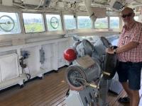 2018 09 26 Tainan Anping Marineschiff 925 auf der Brücke