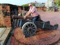 2018 09 26 Tainan Anping Rest vom Minor Artillery Fort