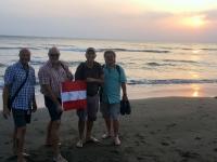 2018 09 26 Tainan Anping Strand mit Sonnenuntergang