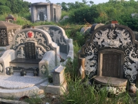 2018 09 26 Tainan Anping verlassener Friedhof