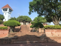 2018 09 26 Tainan Fort Anping Aufgang