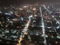 2018 09 27 Kaoshiung 85 Sky Tower Blick auf die nächtliche Grossstadt