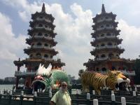 2018 09 28 Kaoshiung Drachen und Tigerpagode Vorderansicht