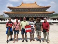 2018 09 28 Kaoshiung Konfuzius Tempel mit Chinesenhut