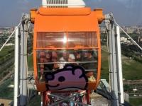 2018 09 28 Kaoshiung Riesenradfahrt Gondel 1