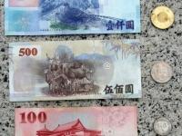 Taiwan Dollar hinten