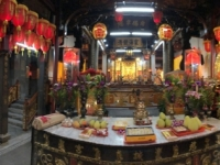 2018 09 23 Taipei Tempel Nähe Shilin Nachtmarkt