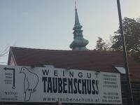 Poysdorf Berühmte Weinmarke Taubenschuss