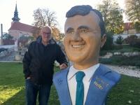 Poysdorf Kunstgarten Verkehrsminister Hofer